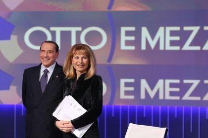 Berlusconi-e-Gruber