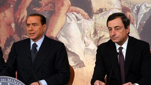 draghi-berlusconi