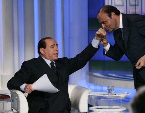 Silvio Berlusconi, Bruno Vespa
