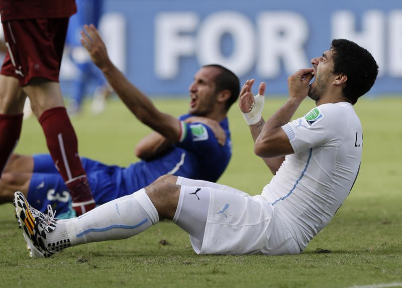 APTOPIX Brazil Soccer WCup Italy Uruguay